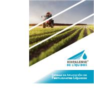 Sistemas de aplicación de fertilizantes líquidos